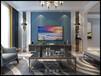 滕州裝修龍泉首府140平方現代簡約風格效果,家裝環保室內裝修!