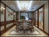 滕州香舍水郡頂樓復式280平方古典美式風格裝修效果-滕州原柳娜