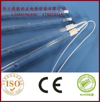 碳纤维加热管是将钨丝伸入充气的石英管中构成