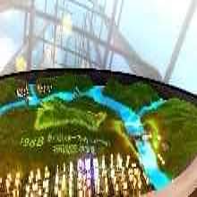 环幕沙盘联动展示系统,3D投影秀,多媒体互动设备