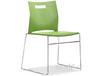 广东可堆叠塑料椅,实心钢架塑料椅