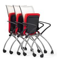 网布多功能椅子,东莞办公椅厂家,折叠会议椅,广东办公椅厂家图片