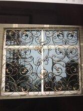 济宁欧式铁艺护窗窗户护栏护网防盗窗防盗网图片