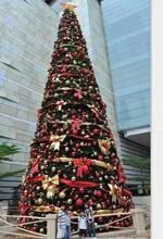 亚克力圣诞树出租镜面亚克力雪花圣诞树工艺品圣诞树装饰品