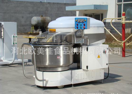欧美佳工业级面缸可移动螺旋和面机SMF130