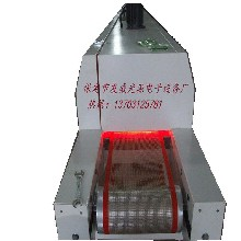 保定涂裝設備生產廠定做UV漆流平機網帶式紅外線流平機圖片
