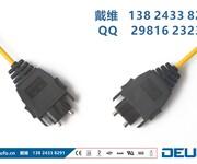 日本JISF08标准的住友DL-72光纤连接器及H-PCF光缆图片