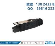 JISF06标准DLC-L1H-PCF光纤跳线图片
