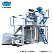 上海盟申PP聚丙烯塑料吹膜机摩擦收卷中心收卷透明度好