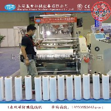 上海盟申机械设备有限公司供应双层共挤拉伸缠绕膜机LLDPE流延膜机