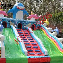 安徽希儿康游乐设备厂家直销安徽充气城堡,充气蹦蹦床,儿童充气蹦床图片