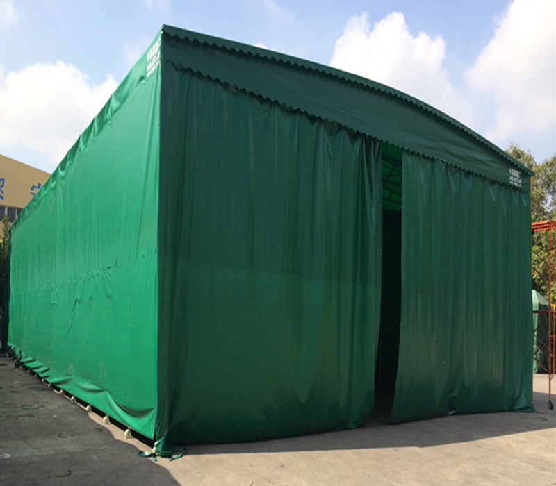 篷定制大型帐篷推拉活动雨棚伸缩雨篷大排档雨棚固定厂房仓库帐篷