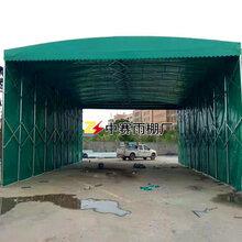 西安雨棚制作西安推拉雨棚大型移动帐篷临时活动雨篷遮阳停车篷夜市大排档雨蓬固定篷图片