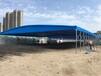西安推拉活動雨棚伸縮折疊帳篷戶外移動車棚大型排檔防雨蓬