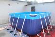 大型支架游泳池设备焦作致远游乐
