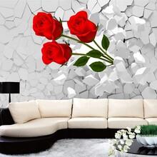 石家庄瓷砖uv万能打印机3D电视背景墙打印机厂家直销操作简单价格优惠图片