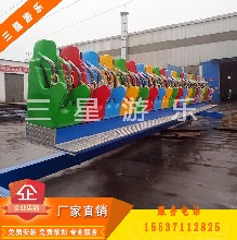广场游乐设备摇滚排排坐ygppz儿童游乐设备三星厂家直销