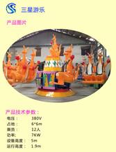 袋鼠跳小型儿童广场游乐设备旋转欢乐袋鼠价格三星厂区实拍图片