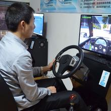 汽车模拟机器县城开什么店好