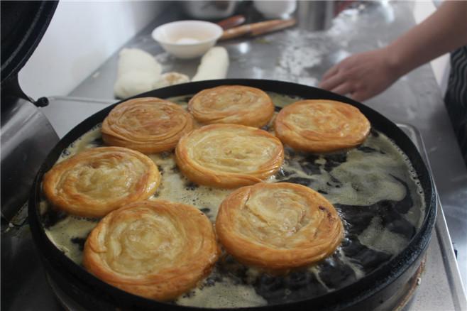 千层饼酱香饼葱花饼鸡蛋饼油酥饼技术学习学会为止