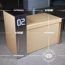 2020新款5g體驗柜臺配件柜收銀臺定做圖片