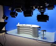 北京慧利创达GVSE虚拟三维蓝箱演播室绿箱背景建设专业的高清虚拟人像抠像系统图片