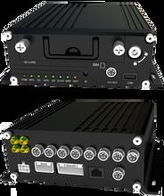 4路百万高清多功能车载硬盘录像机3G车载DVR