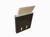 广州博奥超薄升降器,桌面15.6寸超薄无纸化会议升降系统