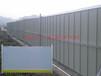 河北万虎PVC塑料隔离道路施工围挡/彩钢围挡生产厂家