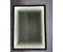 卫生间无框LED灯镜壁挂悬挂浴室镜洗手间厕所灯镜卫浴镜子
