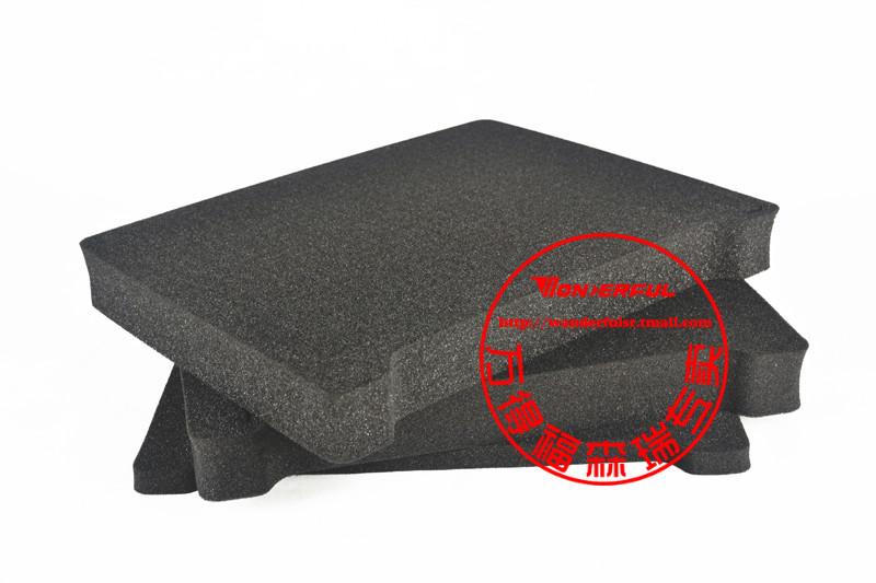 东莞万得福pc-5020方格子海绵预切割方格万德福保护箱海绵安全箱石碣