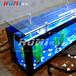 防近视护眼现代时尚新颖简约玻璃简欧电视柜组合鱼缸