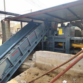 桐城供應液壓打包機大型臥式廢紙打包機前景