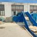 菏澤出售鐵麒麟lf-120臥式打包機廢紙液壓壓縮扎捆設備