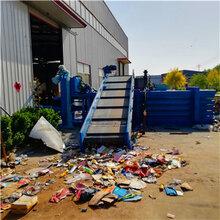 安徽合肥卧式200吨废品回收站液压打包机价格图片