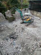 南沙区拆除打墙建筑主体拆除,地面切割打沟,排水沟沙井制作,土石方清理清运
