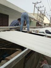 广州黄浦区楼顶钢结构加层,防火门吊挂门安装,铁皮瓦阳光板安装,挡雨棚停车场施工