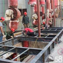 广州黄浦区钢结构生产线平台,工业设备框架,厂房生产线围闭,管道支架安装