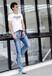 哪里有时尚便宜T恤批发最便宜男装T恤批发时尚圆领纯棉T恤批发