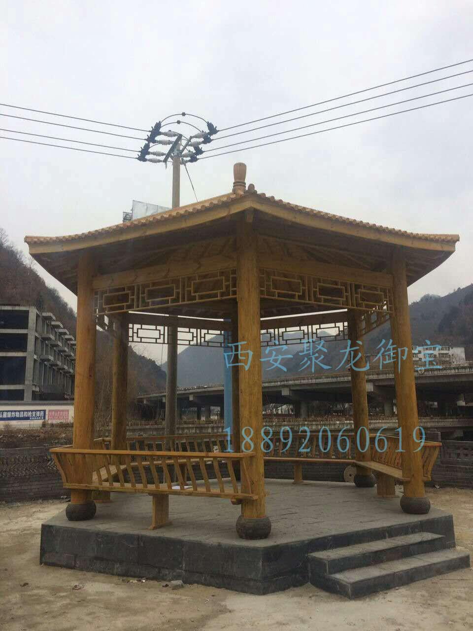 建筑防腐木凉亭