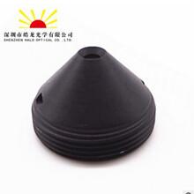 尖锥针孔镜头/广角针孔监控镜头/1/4/广角130度/M12/尖锥2.1mm图片