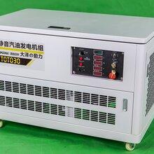 三相进口25KW静音汽油发电机