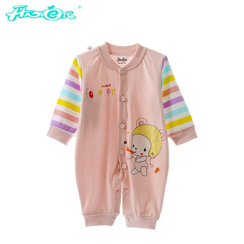 【品牌】:开心e代;  【商品】:开心e代2016新款婴幼儿连体衣 卡通