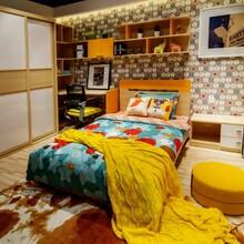 沈阳软装设计_窗帘壁纸搭配_儿童房家具搭配