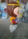 埃菲尔铁塔3~17米大圣归来,皮皮猴,变装猴,皇冠猴,QQ猴,等等卡通人物