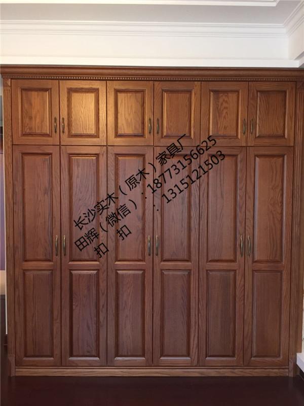 长沙原木家具定制价格行情、整屋整木原木衣帽间、鞋柜定制服务周到