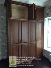 长沙全屋家具定制实木玄关柜、房门定制材料齐全