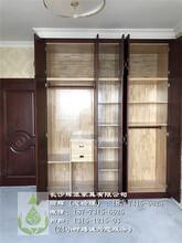 长沙工厂定制家具原木书柜门、柜体订做工期短图片