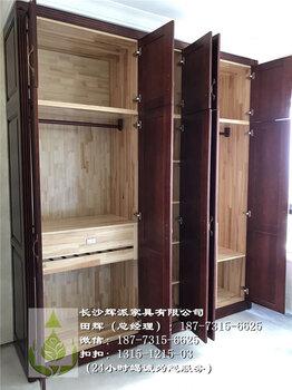 【长沙定制实木家具考察时间、实木衣柜、储物柜订做服务品质】-黄
