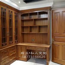 长沙定制整房实木家具、实木餐边柜、橱柜订做服务周到